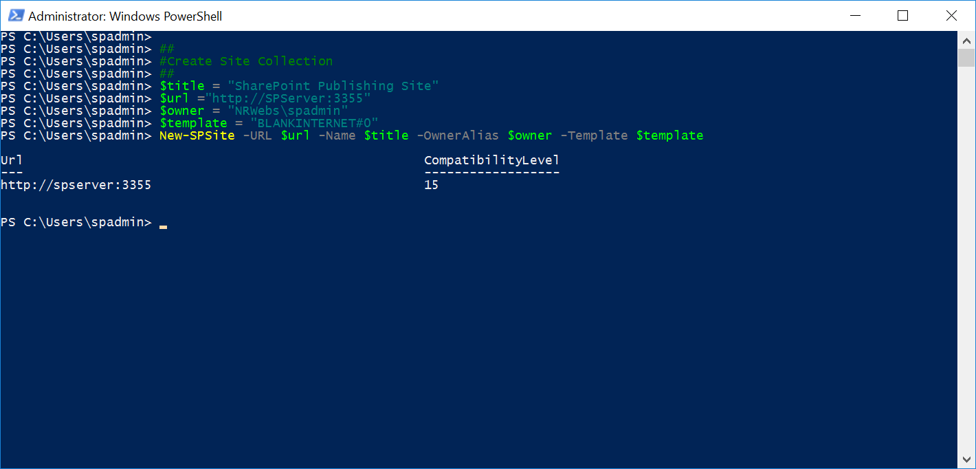SharePoint Powershell – Nilesh Rathod